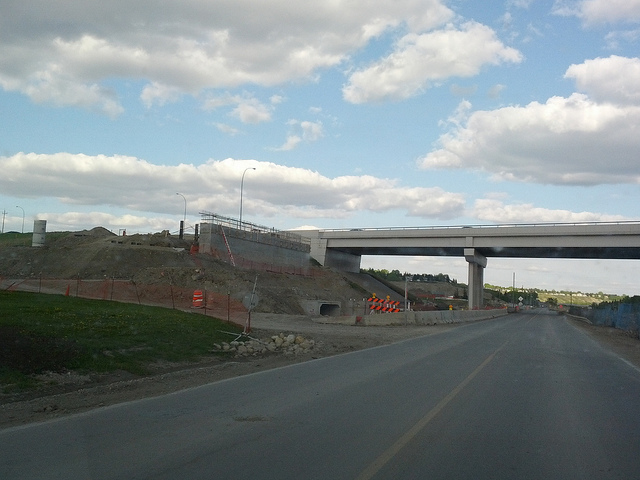 Nose Hill & Stoney Trail Interchange
