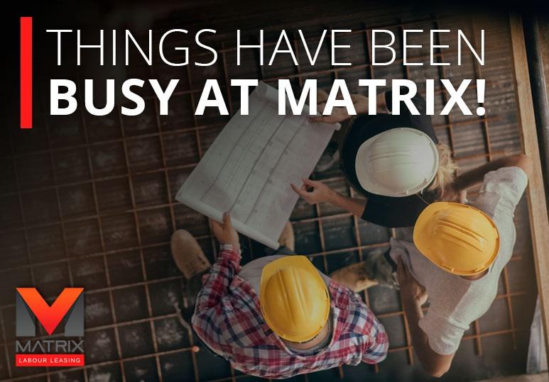 matrix labour leasing, new field office, kitimat bc