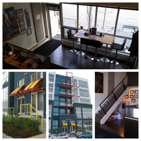 Calgary Office In East Village Available For Rent
